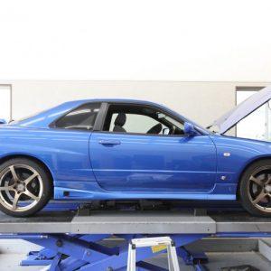 HFC27 セレナ 車高調取り付けと四輪アライメント調整