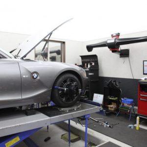 WRX VAB ブリッツ車高調取り付け 四輪アライメント調整