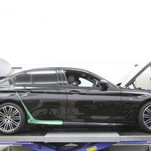 ヴィッツ NCP91に車高調の取り付けとリジカラ装着、四輪アライメント