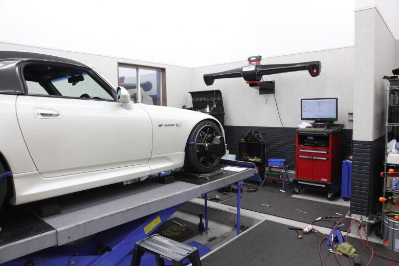 S2000 四輪アライメント調整