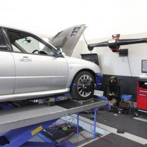RX-8 車高調整 1G締め 四輪アライメント調整