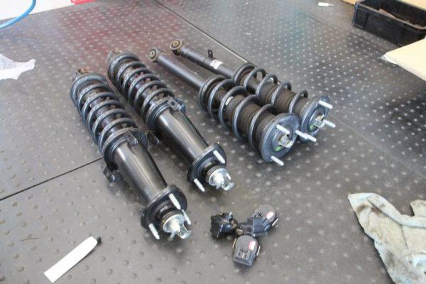 クラウン GRS201 サスペンション交換 四輪アライメント調整