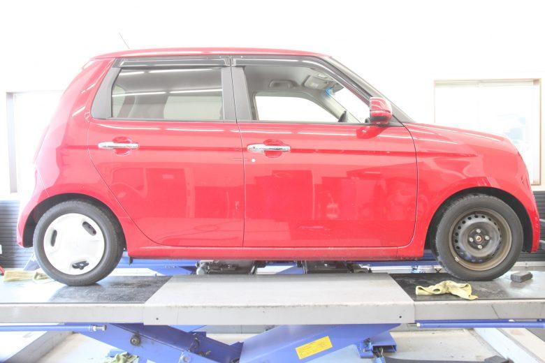 N-ONE ローダウン車高RS-R