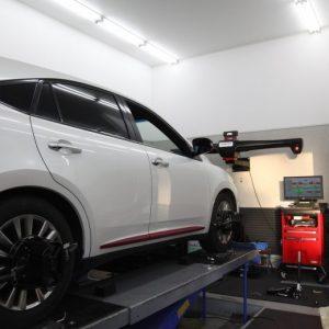 エブリー DA17V フォレストオートアップスプリング取り付け 四輪アライメント調整