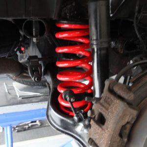プリウス 車高調整 1G締め 四輪アライメント調整