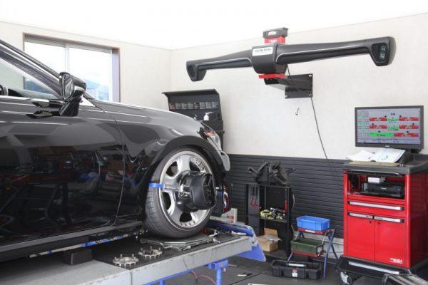 レクサス GS アーム交換 四輪アライメント調整