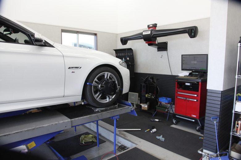 BMW四輪アライメント