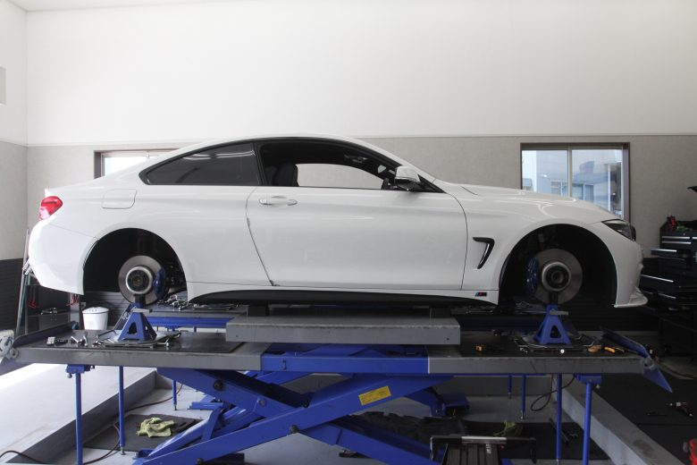 BMW1G締め