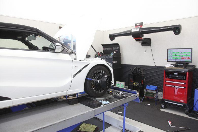 S660 四輪アライメント調整