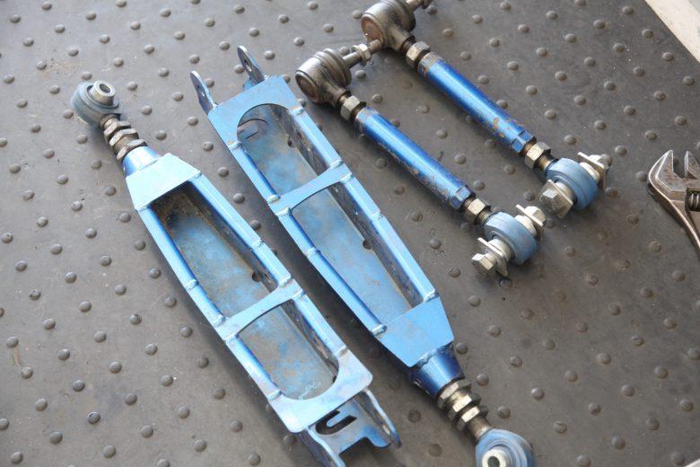 WRX VAB リアロアアーム交換と四輪アライメント調整