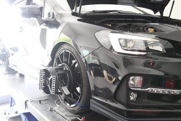 レヴォーグ VM4 車高調整 四輪アライメント調整