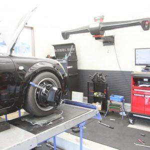 CX-5 1G締め 四輪アライメント調整