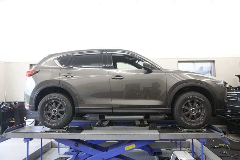 CX-5 UP210リフトアップ車高