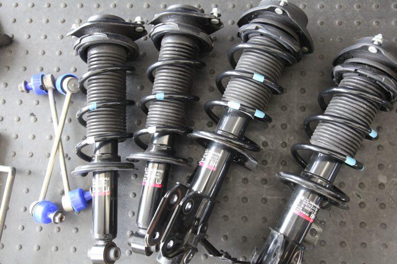 ZN6  86  SACHSサスペンション交換 四輪アライメント調整