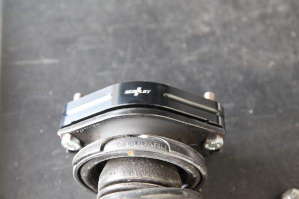 レガシィ アウトバック BS9 アップスペーサー取り付け 四輪アライメント調整