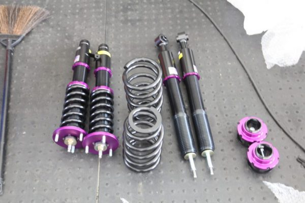 エリシオン RR1 JIC車高調取り付けと四輪アライメント調整