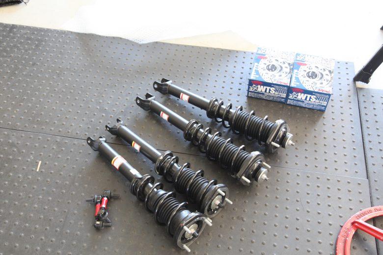 ロードスター ND5RC RS-Rダウンサス取り付けと四輪アライメント調整