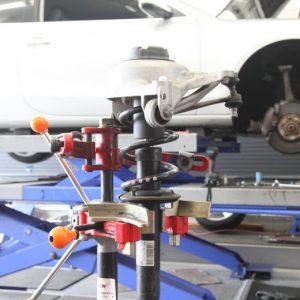 アルト HA36 ショック・スプリング交換 リジカラ取り付け スタビ追加