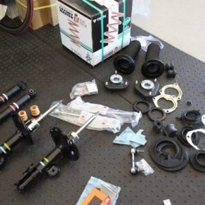 レクサス RC350 車高調取り付け 四輪アライメント